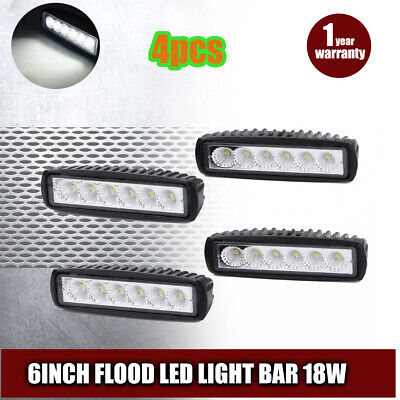 10X 48W Car Boat 12V 24V LED Work Light Bar Lamp Driving Fog Truck Jeep 4.3Inch