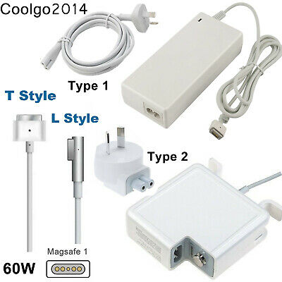 """60W AC Power Adapter Charger for Apple Macbook Pro 13"""" A1278 2009-2011 L-Tip"""