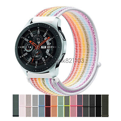Cinturino Woven Nylon Sport Loop Watch Band per Samsung Galaxy Watch 42mm 46mm