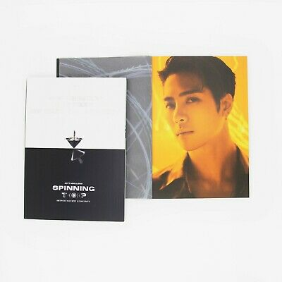 [GOT7]SPINNING TOP Album/Eclipse/Insecurity Photobook-Jackson Page/No photocard