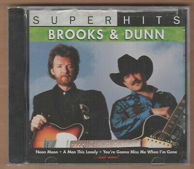 "BROOKS & DUNN cd ""Super Hits"" 2007 Sony NEW Sealed 9 Trax Country 886970570329"