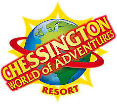 x2 Chessington World of Adventures tickets - Tuesday 9th July 2019