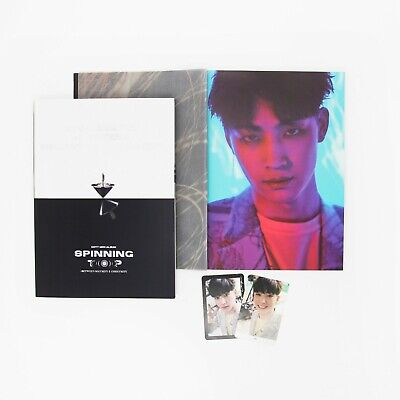 [GOT7]SPINNING TOP Album/Eclipse/Security Photobook-JB Page+2 JB Photocards
