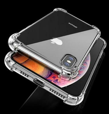 Case for iPhone 8 7 6 6s Plus XR XS MAX ShockProof Slim Phone Cover TPU Hybrid