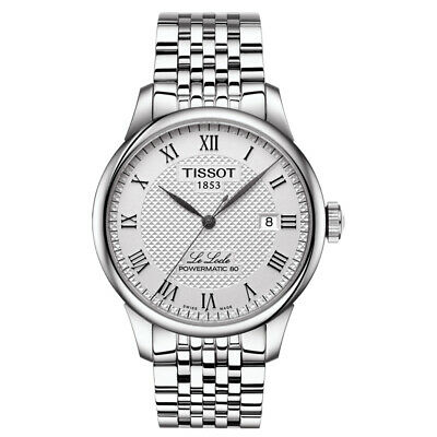 NEW Tissot Le Locle Powermatic 80 Automatic Mens Wristwatch