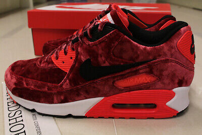 58f938bc81 NIKE AIR MAX 90 25TH ANNIVERSARY RED VELVET 725235-600 US 7 SIZE cork  infrared