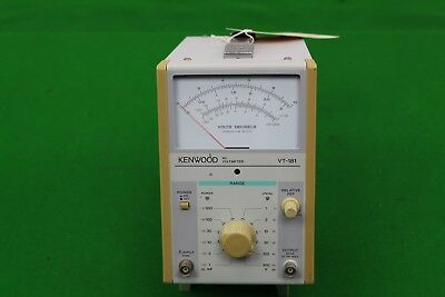 Kenwood AC Voltmeter VT-181 Electrical Testing Equipment