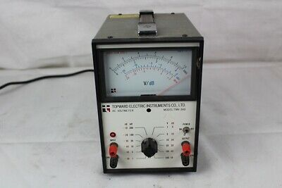 AC VOLTMETER MODEL: TMV-360 Lab Electric Equipment