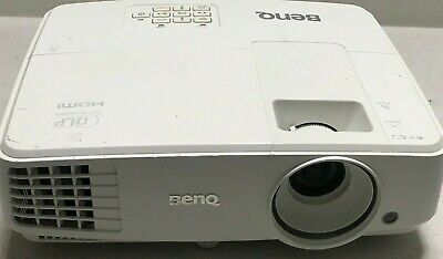 BenQ MS524 HDMI PROJECTOR 725H LAMP HOURS USED IMAGE DULL   REF: 1551