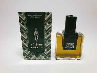 Carven Vetiver After Shave Lotion 120 ml Splash (NO SPRAY) New & Rare
