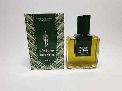 Carven Vetiver After Shave Lotion 240ml Splash (NO SPRAY) New & Rare