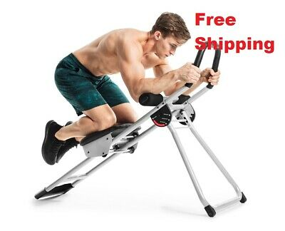 Ab Workout Machine Crunch Exercise Equipment Fitness Training Muscle Abdominal