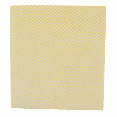 2Work Med Weight Cloth 38x40cm Yellow (Pack of 5) CCYM4005I