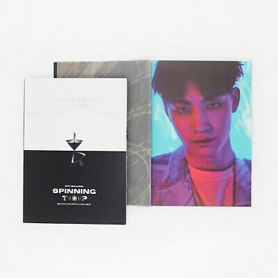 [GOT7]SPINNING TOP Album/Eclipse/Insecurity Photobook-JB Page/No photocard