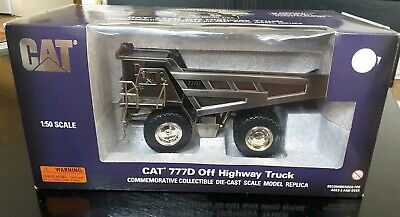 Cat 777D Off Highway Truck By Norscot 1/50 Scale - New