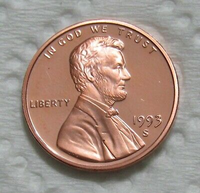 1993-S 1C Lincoln Memorial Cent - Proof