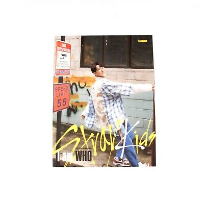 [Stray Kids]2nd mini album I am WHO Official Folded Lyrics Poster/CHANGBIN
