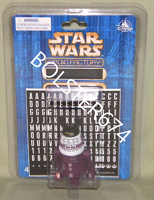 PURPLE R5 ASTROMECH Disney Parks 2017 Star Wars Droid Factory BAD Custom Figure