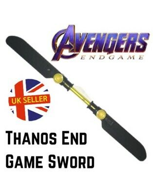 Thanos Double Sword Lego Fit Avengers End Game Block Marvel Infinity UK Seller