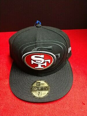 watch 5a6b5 1750a New Era 59Fifty NFL Cap San Francisco 49ers 2016 On Field Fitted Team Hat