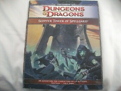 Dungeons and Dragons 4th Ed: Scepter Tower of Spellgard H3 Lvls 2-4 21764