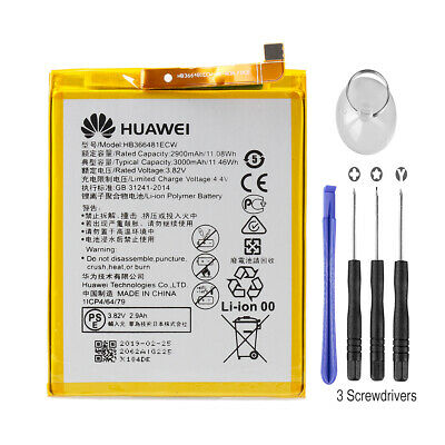 Genuine OEM HB366481ECW Battery 3000mAh For Huawei P20 Lite Honor 8 9 5C Enjoy 8
