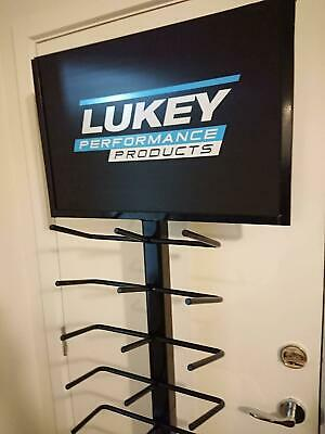 Lukey Exhaust Sign, Man Cave, Exhaust Shop, Collector.