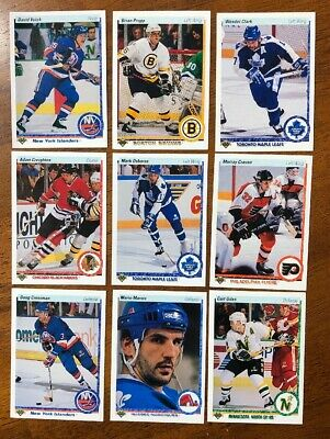 1990-91 Upper Deck Low Series Hockey (1-200 - U-Pick von List - 6 für $1