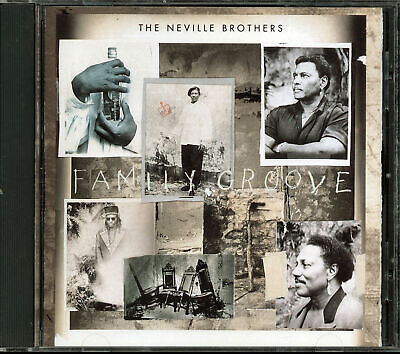The Neville Brothers - Family Groove (CD, 1992, A&M Records)