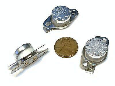 """INDEX Thermostatic Switch 8037122 5//8/"""" Fine Thread 225 Degree Normally Open"""