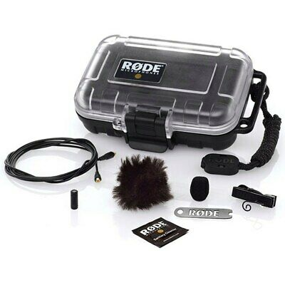 Rode Lavalier Lapel Omni Directional Condenser Microphone Film TV Video Theatre