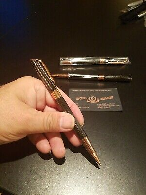 GREAT GIFT Jinhao Rose Gold Wavy  carbon fiber Rollerball pen