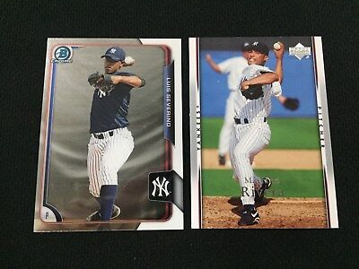 Luis Severino Rookie Bowman Chrome Mariano Rivera Ud Yankees Baseball Cards