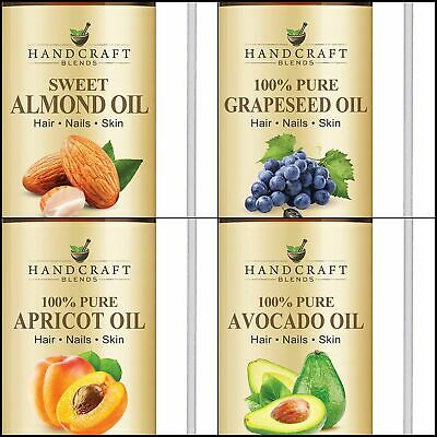 Carrier Oil II  Huge 16 OZ 100% Pure Oil – All Natural Premium Therapeutic