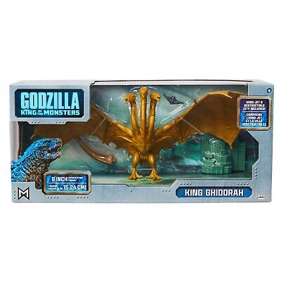 "Jakks Godzilla King Of The Monsters 6"" King Ghidorah ~ Walmart Exclusive"