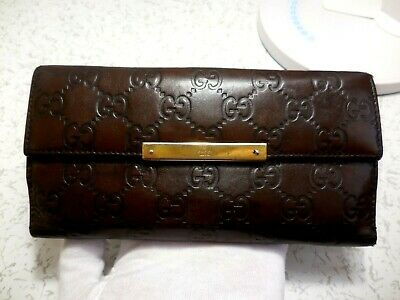 18efbecdc416 GUCCI WALLET PURSE Long Wallet Pink Woman Authentic Used T3217 ...