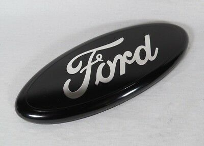 "FORD 7"" BLACK EMBLEM REAR LIFTGATE/TAILGATE OVAL BADGE back sign symbol logo"