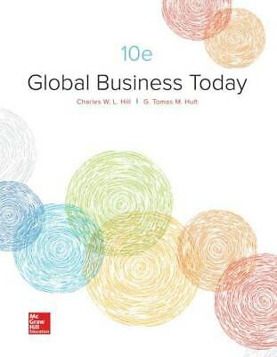 Loose Leaf Global Business Today by Hill, Charles W. L.
