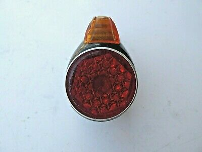 Hella Tail Light / Rear Light Bubble Model Housing - Nos - For Oldtimer