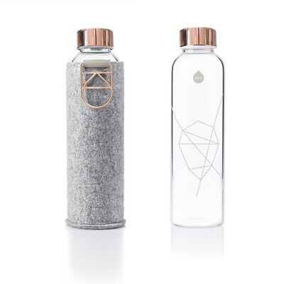 equa Mismatch Glasflasche 750ml Rose Gold