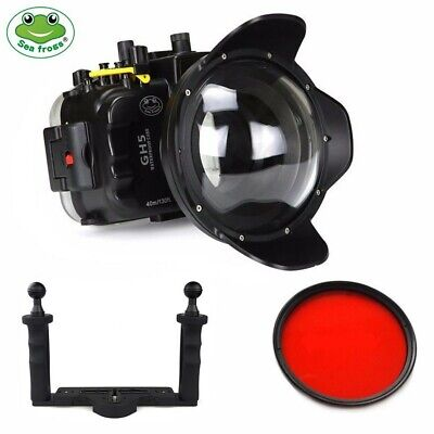 Seafrogs 40m Underwater Camera Housing w/ Dome Port Kit for Panasonic GH5 GH5S