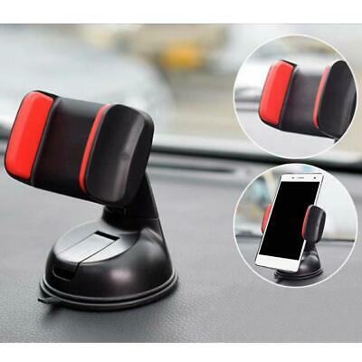 Car Mobile Phone Holder Universal Mount Windscreen Dashboard Various Colours New
