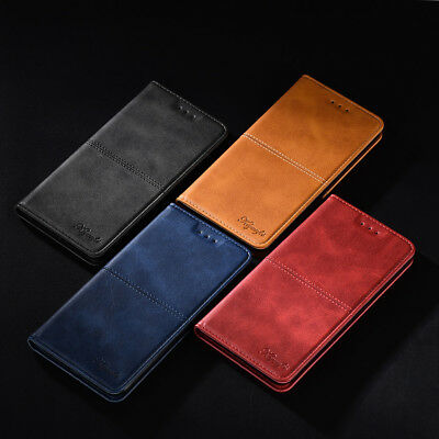 Samsung Galaxy A20/A30 Case PU Leather Magnetic Wallet Flip Cover Card Slots