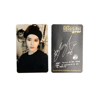 [NCT127]4th mini album/NCT #127 WE ARE SUPERHUMAN Official Photocard / TAEYONG