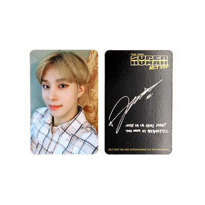 [NCT127]4th mini album/NCT #127 WE ARE SUPERHUMAN Official Photocard / JUNGWOO