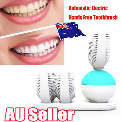 Automatic Electric Hands Free All Tooth Toothbrush Wireless Charging #T