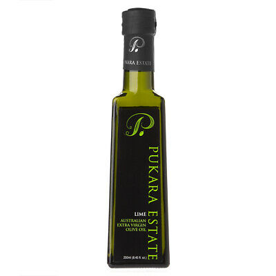 NEW Pukara Estate Extra Virgin Olive Oil Lime Flavour 250ml
