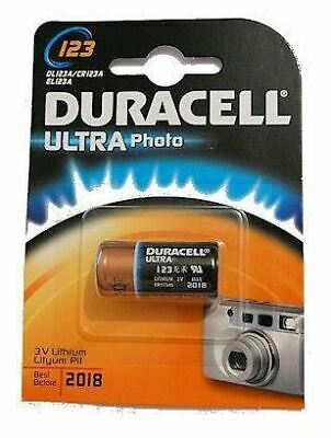 Duracell Ultra M3 3v Lithium Lithium 3V non-rechargeable battery DL123