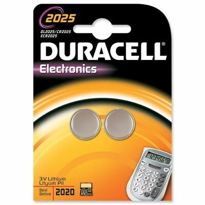 Duracell DL2025B2 Lithium 3V non-rechargeable battery