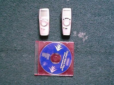 Two Olympus Digital Wave Player Voice Recorder
